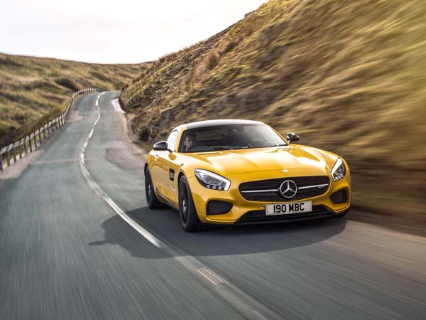 mercedes amg gts front profile