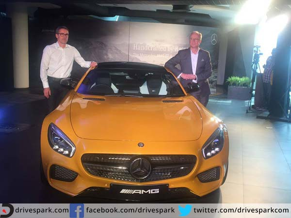 mercedes benz amg gt s launch