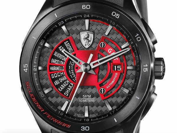 Scuderia Ferrari Unveils Limited Edition Watch Drivespark