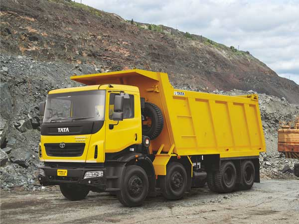tata construction vehicles