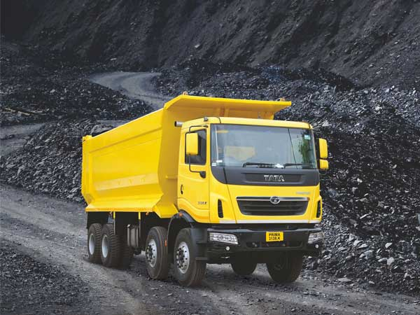 tata mining commercial vehicles