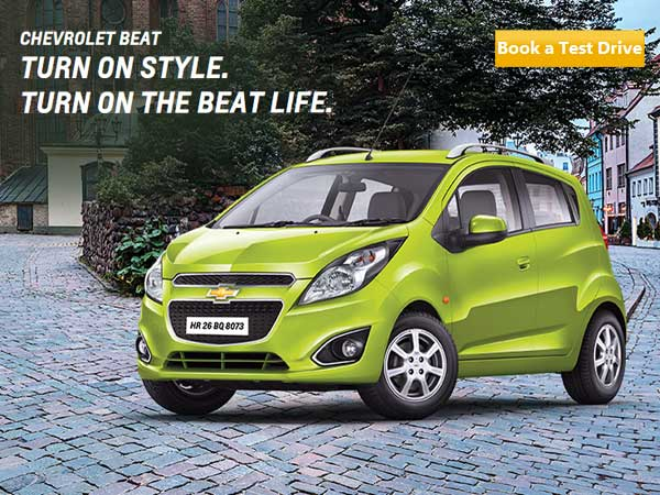 new chevrolet beat offers and features