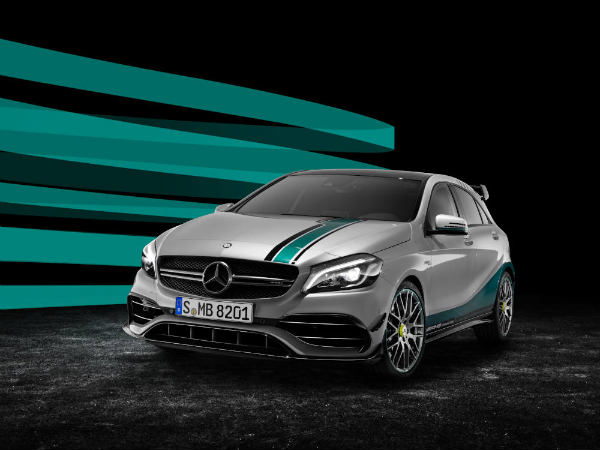 mercedes a45 amg f1 special edition front profile
