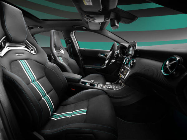 mercedes a45 amg f1 special edition interior
