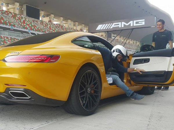 mercedes amg gt s driver side