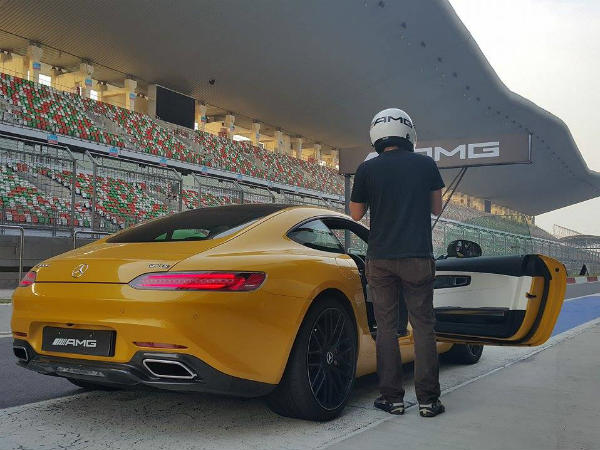 mercedes amg gt s test drive buddh circuit