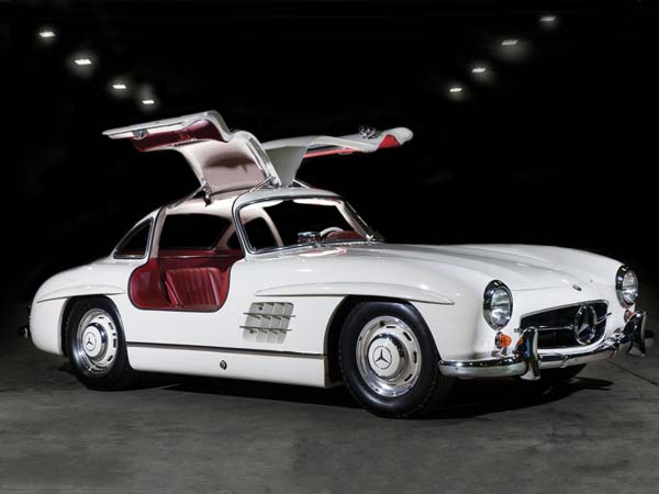 1955 mercedes 300 sl gullwing to go on sale next year in paris drivespark. Black Bedroom Furniture Sets. Home Design Ideas