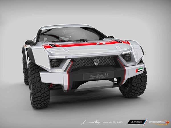 zarooq sandracer unveiled front profile