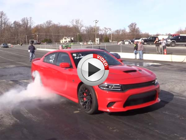 Fastest Car In The World 2015 >> World's Fastest Dodge Charger Hellcat - Video - DriveSpark