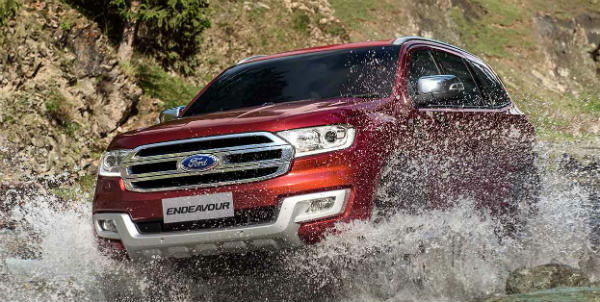 2016 ford endeavour water wading