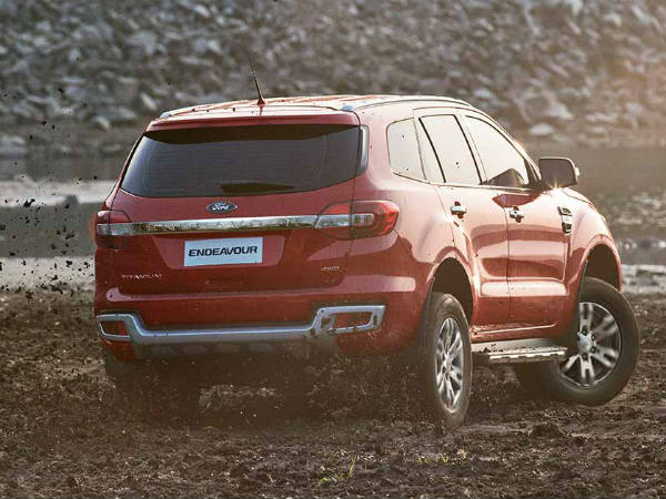 2016 ford endeavour for india