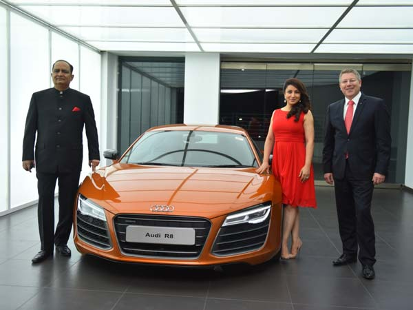 audi opens showroom in rajkot