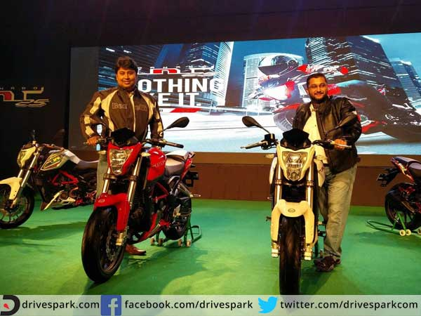 benelli tnt25 launched in india
