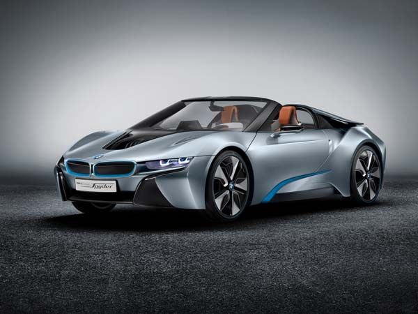 bmw i8 spyder could launch at ces