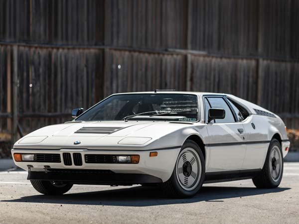 bmw m1 front profile