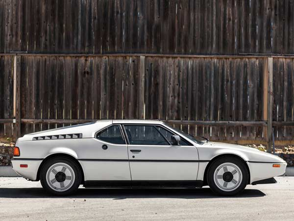 bmw m1 side profile
