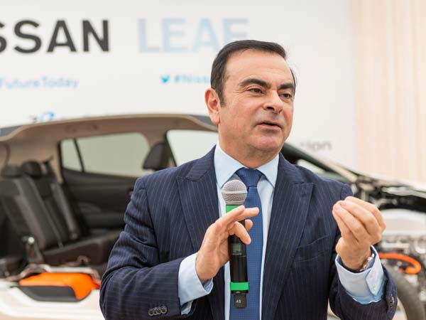 renault nissan chairman and ceo, carlos ghosn