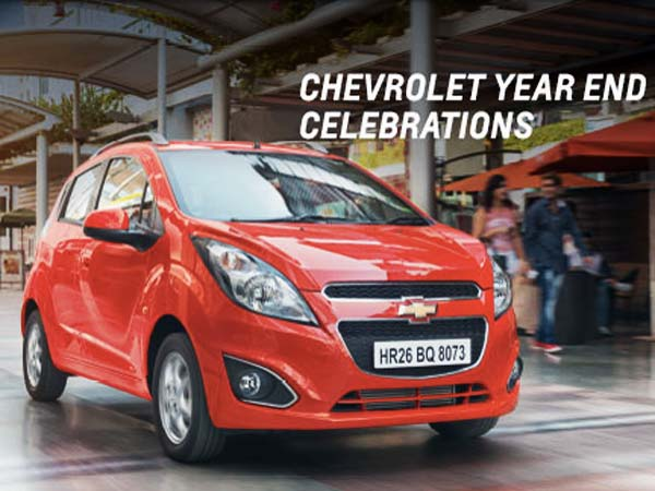 chevrolet india year end offer