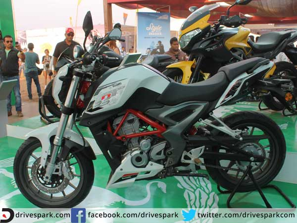 dsk benelli tnt 25 india launch side profile