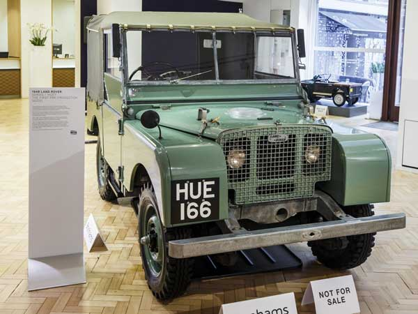 the first ever pre production land rover