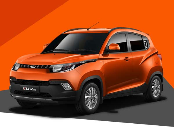 mahindra s101 named kuv100 officially front profile