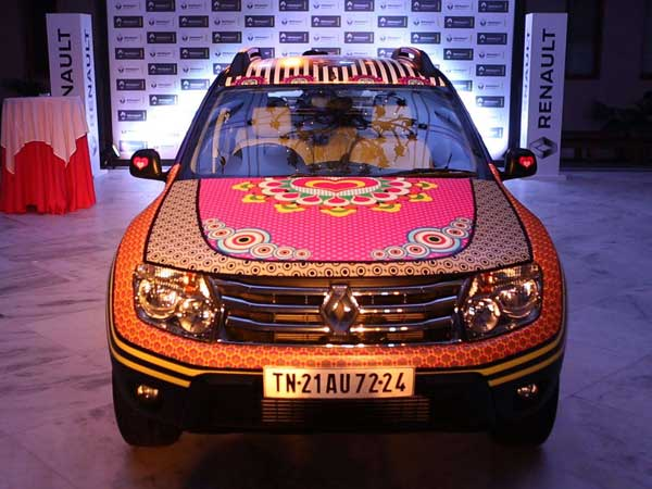 manish arora renault duster front profile