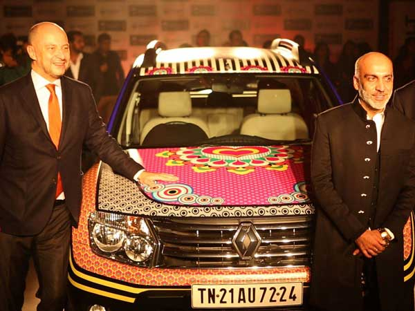 manish arora with renault duster