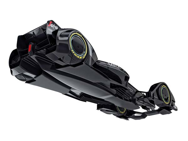 mclaren mp4-x formula one bottom view