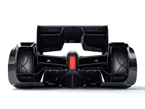 mclaren mp4-x formula one rear profile