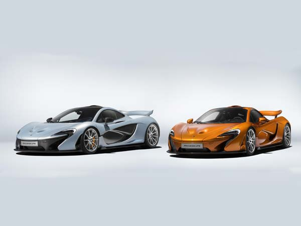 the first and last mclaren p1