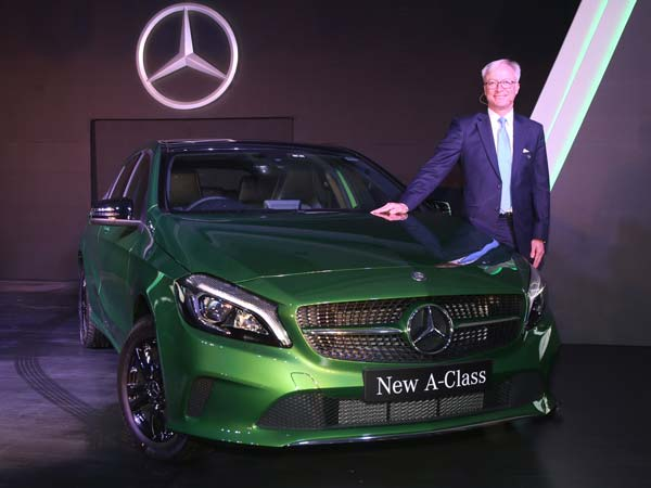 mercedes benz a class facelift launched in india