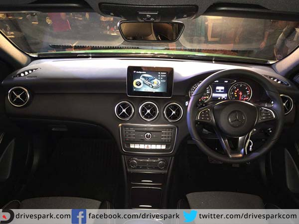 mercedes benz a class facelift launched interior