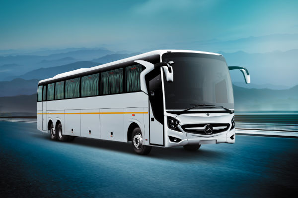 mercedes benz high deck coach