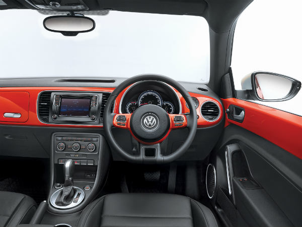 21st Century Beetle steering with paddle shifters