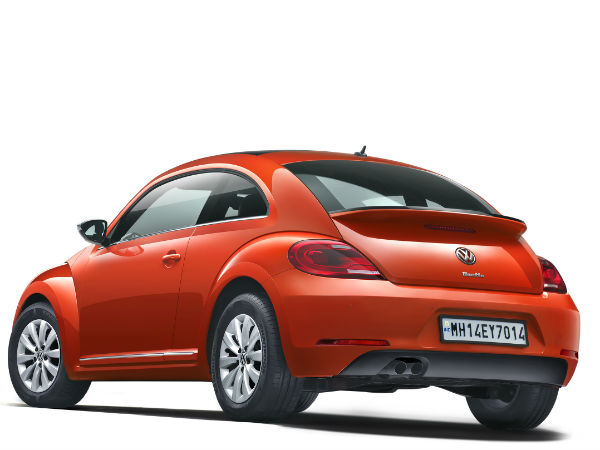21st Century Beetle rear design