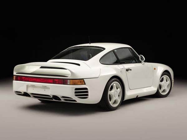 porsche 959 komfort rear profile