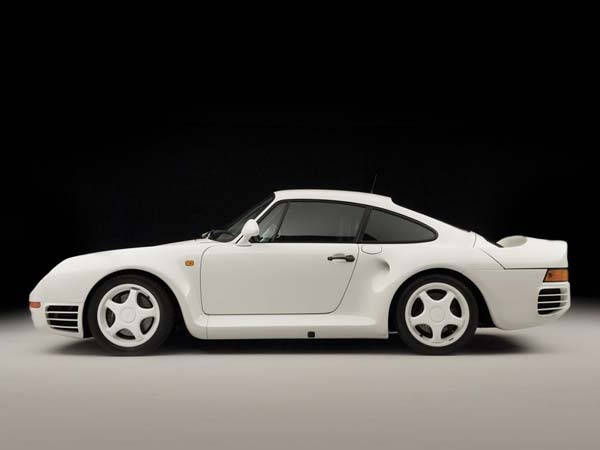 porsche 959 komfort side profile