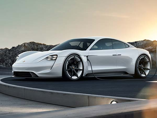 porsche mission e 2020 launch side profile