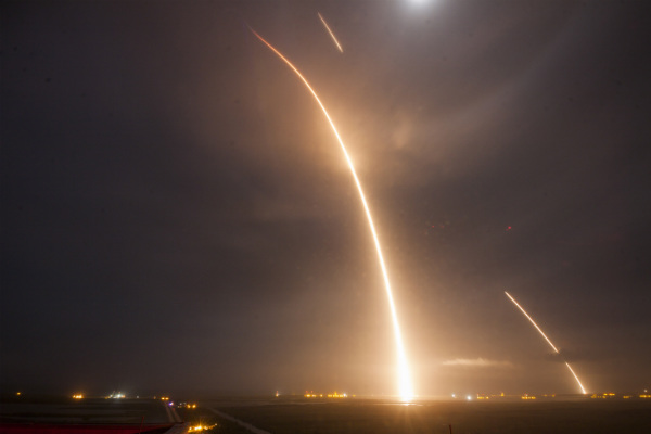 elon musk space x falcon 9 launch and landing