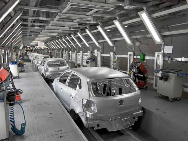 volkswagen india iso certification assembly line