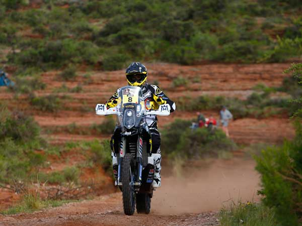 dakar rally 2016 stage 2 update bike