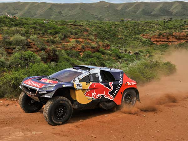 dakar rally 2016 stage 2 update car