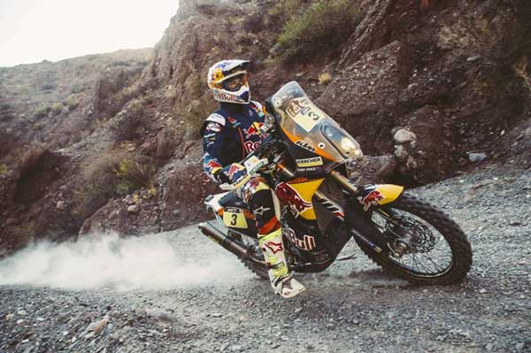 dakar rally stage 9 update motorcycles