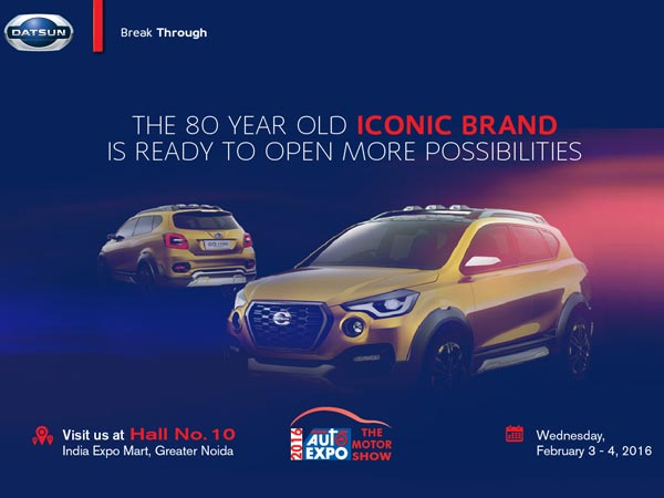 datsun gocross teased