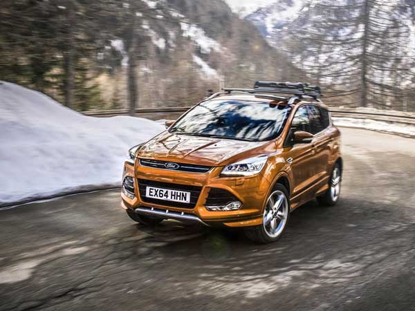 ford kuga most likely to be showcased at 2016 auto expo. Black Bedroom Furniture Sets. Home Design Ideas