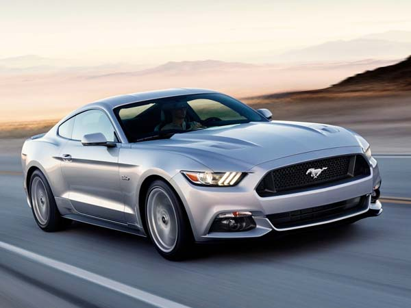 ford mustang grey
