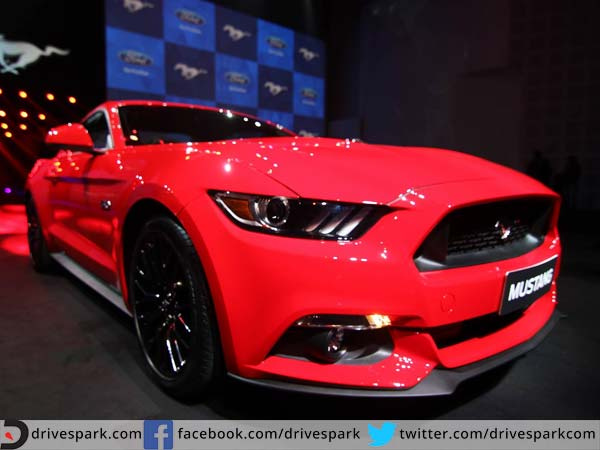 ford mustang gt front profile