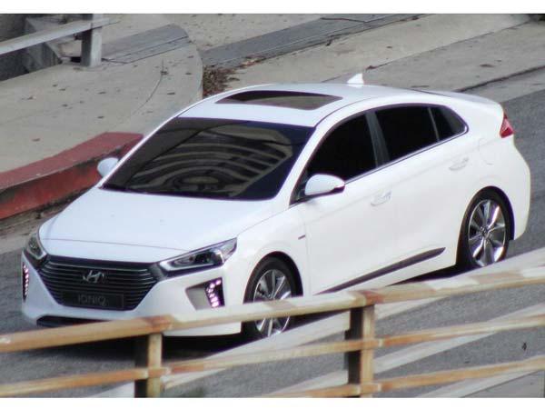 Hyundai Ioniq Spy Shot Front Design