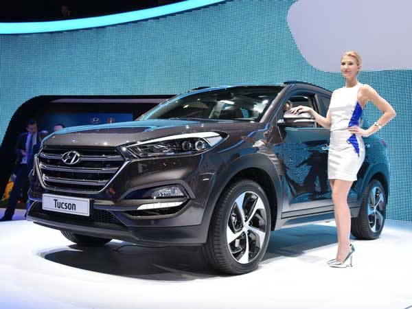 new hyundai tucson to debut in india at 2016 auto expo. Black Bedroom Furniture Sets. Home Design Ideas