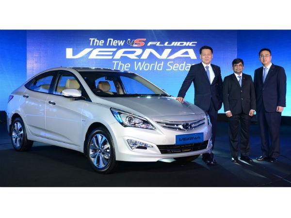 Hyundai Verna Sx O Variant